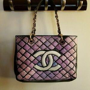 Handbags - Awesome Shoulder Bag Pop Art Hand Painted Bag